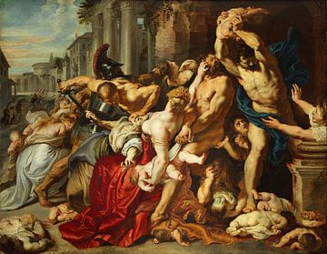 Die Ermordung der Unschuldigen, Peter Paul Rubens
