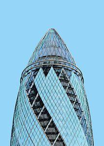 London: 30 St Mary Axe - The Gherkin detail