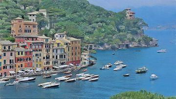 Portofino von Schildersatelier van der Ven