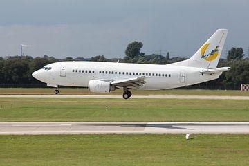 boeing 737 landing van Bas Berk