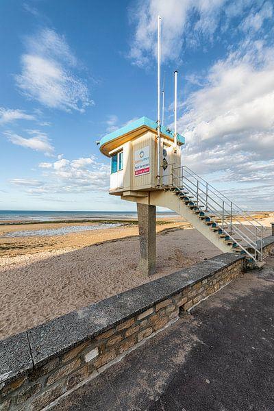 Strandhuis Lion sur mer Frankrijk van Rob van der Teen