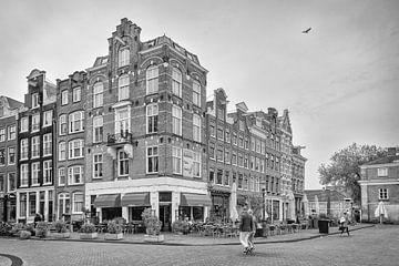Hoogte Kadijk – Kadijksplein – Amsterdam van Tony Buijse