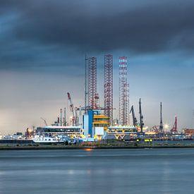 Hafen von Rotterdam von Guido Akster
