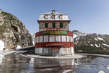 Verlaten James Bond hotel in de Zwitserse Alpen, Belvedere Hotel van Sasja van der Grinten