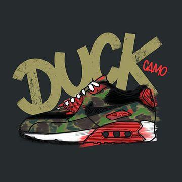 """Nike Air Max 90 """"Atmos Duck Camo"""" von Pim Haring"""