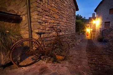 Altes französisches Fahrrad von Halma Fotografie