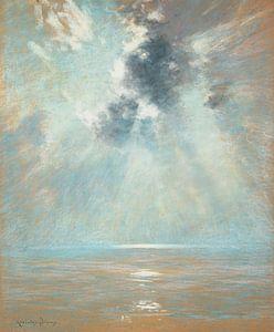 John Appleton Brown~Ozeanischer Sonnenaufgang.