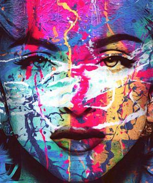 Madonna Splash Pop Art PUR Part 2 von Felix von Altersheim