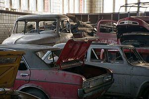 Urbex - Verlaten garage