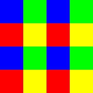 4x4 in 16 | ID=04 | V=12 | RBGY | P #01 van Gerhard Haberern