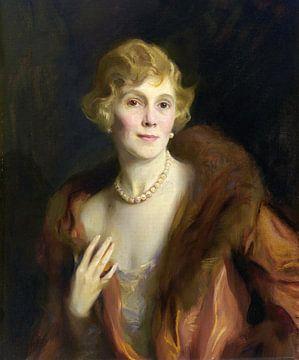 Pauline Morton Sabin, Philip Alexius de László