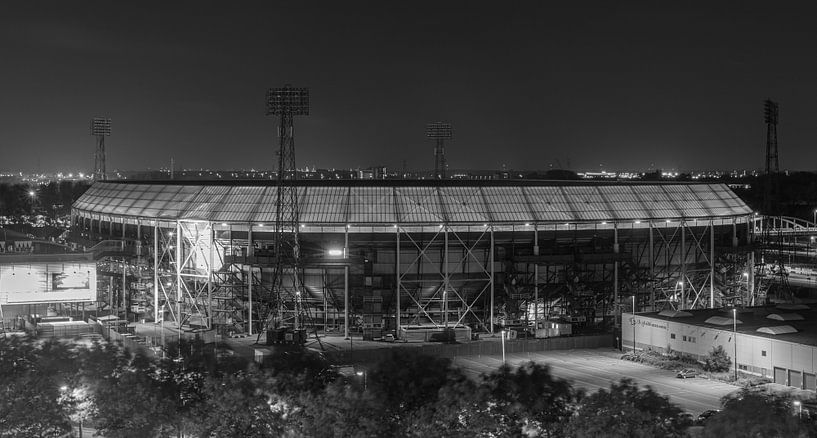 """Het Feyenoord Stadion """"De Kuip"""" in Rotterdam van MS Fotografie   Marc van der Stelt"""