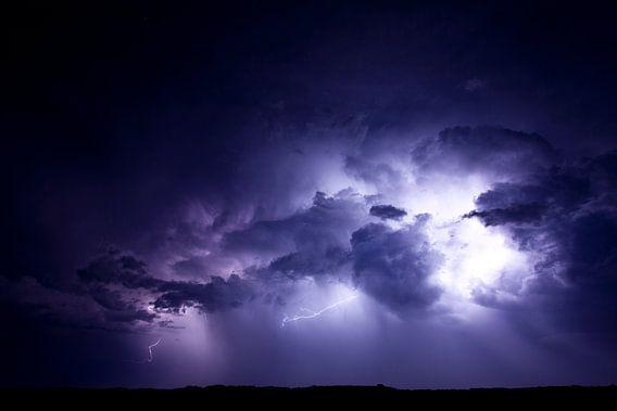 Onweer boven de Boschplaat