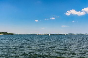 Bodden tour eiland Vilm, haven Lauterbach, Moritzdorf, Bollwerk/Baabe op het eiland Rügen van GH Foto & Artdesign