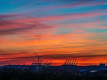 2018-04-21 Sonnenuntergang von Joachim Fischer