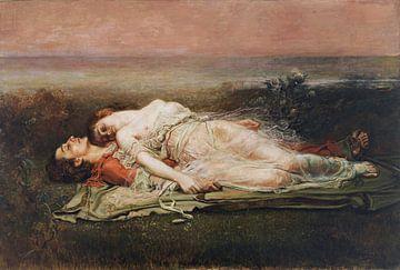 Tod von Tristan und Isolde, Rogelio de Egusquiza - 1910 von Atelier Liesjes