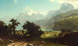 Albert Bierstadt. Lake Lucerne van