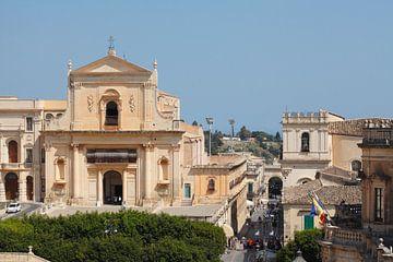 Benediktinerkloster SS Salvatore, Noto, UNESO Weltkulturerbe, Vale di Noto, Provinz Syrakus, Sizilie