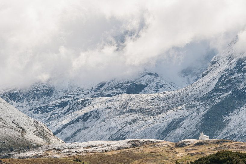 Silvretta hochalpenstrasse in Oostenrijk - 2 van Damien Franscoise