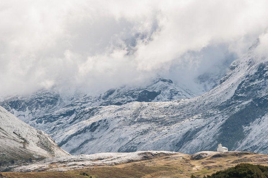 Silvretta hochalpenstrasse in Oostenrijk - 2