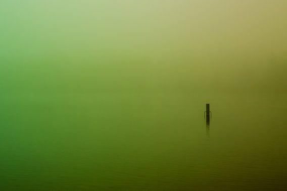 Groene  Mist over de Rijkerswoerdse Plassen