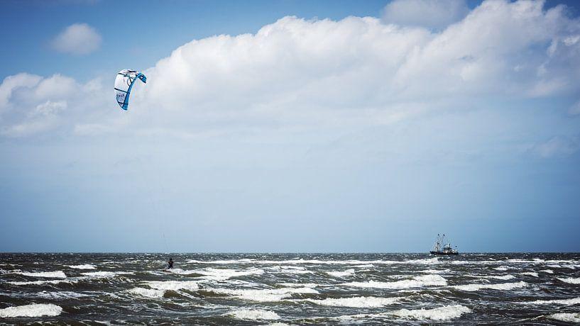 Norderney - Kitesurfing van Alexander Voss