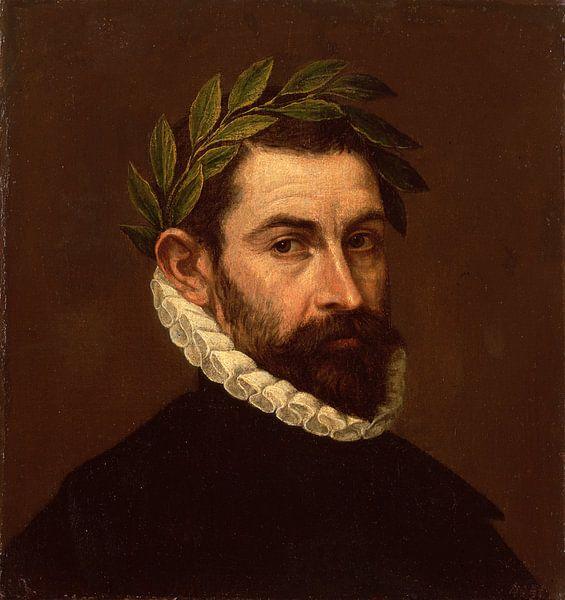 Porträt des Dichters Alonso de Ercilla y Zuniga, El Greco von The Masters