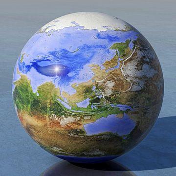 De omgekeerde wereld - Azië en Australië  van Frans Blok