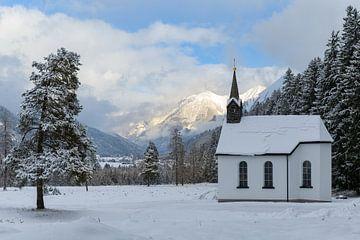 Kapelle im Lechtal von Denis Feiner