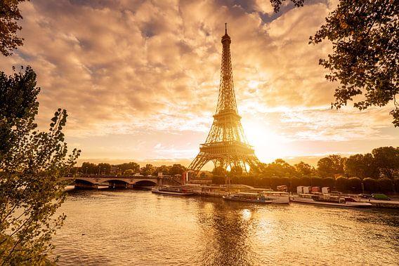 Paris Eiffelturm  van davis davis