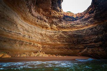 Sehr berühmtes Bild, aufgenommen an der Algarve, Portugal. von Patrick Vercauteren