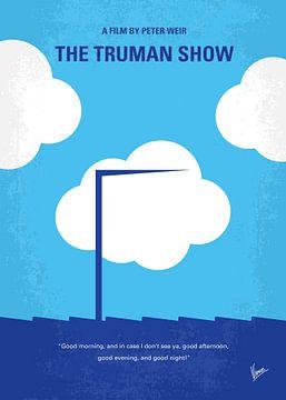 No234 My Truman show minimal movie poster van Chungkong Art
