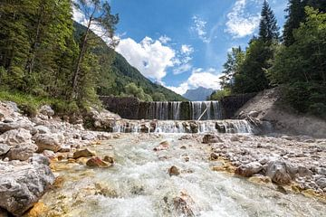 Waterval Slovenie van Cynthia van Diggele