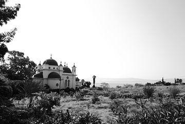 Kafarnaum - Kirche der Zwölf Apostel von Maurice Weststrate