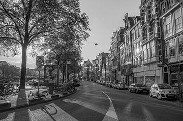 Amstel vanaf Muntplein van Hugo Lingeman