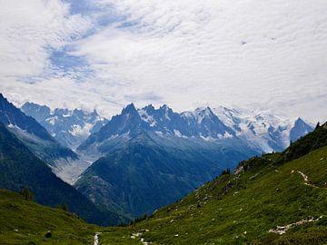 Alpweide Mont-Blanc von Lu's Fotografie