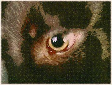 Puppy Oog van Judith Robben