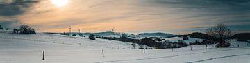 Winterpanorama van 7R.Collection