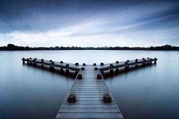 Rustige morgen bij de pier sur Martijn Kort