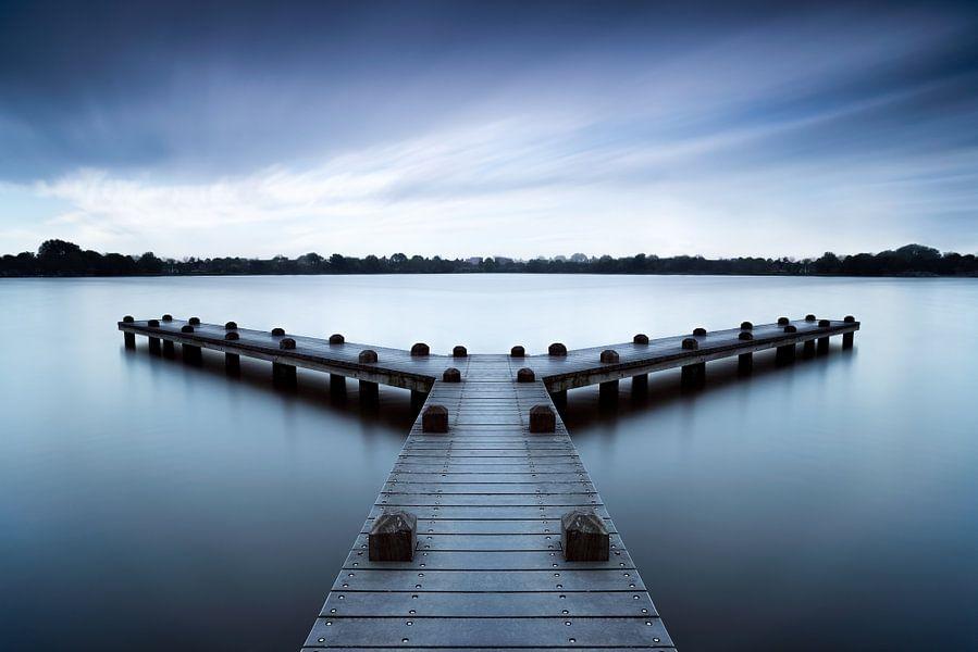 Rustige morgen bij de pier van Martijn Kort