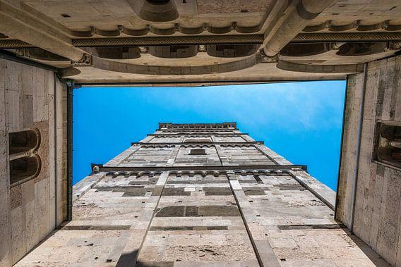 Duomo van Modena, doorkijk omhoog