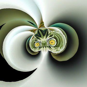 Phantasievolle abstrakte Twirl-Illustration 111/43 von PICTURES MAKE MOMENTS
