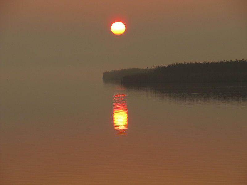 zonsondergang 2 van Folbert Nicolai