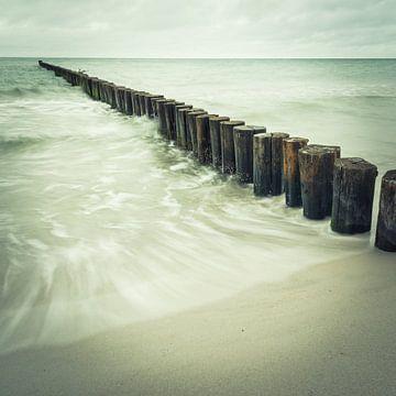 Ostsee Buhnen von Tobias Luxberg
