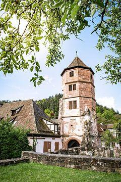 Prachtige klooster ruïne Hirsau in het Zwarte Woud