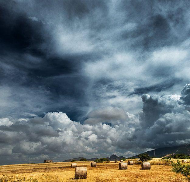 wolkenlucht van Harrie Muis