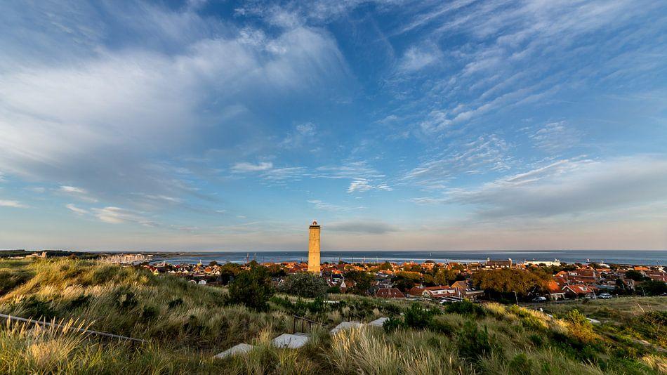 Panoramafoto van Terschelling-West van Contrast inBeeld