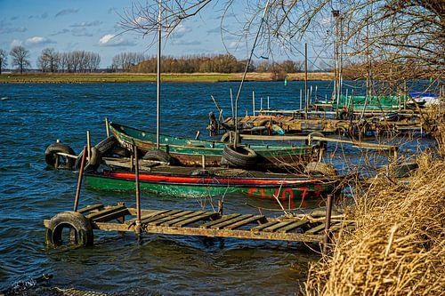 Oude roeibotenhaven