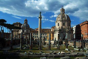 Forum Caesarea, Rome, Italie van Marcel Admiraal