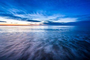 Zonsondergang Texel van Danny Slijfer Natuurfotografie